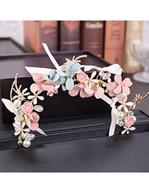 Fashion Multi-color Flower Shape Decorated Hair Accessories