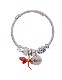Fashion Red Dragonfly Shape Decorated Bracelet