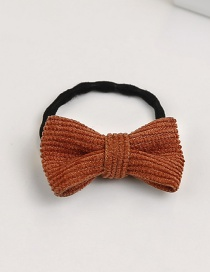 Fashion Dark Red Bowknot Shape Decorated Hair Band (1 Pc )