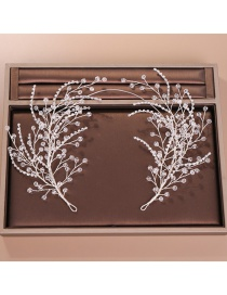 Fashion White Diamond Decorated Hair Accessories