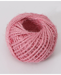 Fashion Pink Pure Color Decorated Rope(30meters)