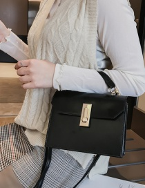 Fashion Black Crossbody Single Shoulder Bag