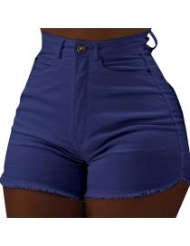 Sapphire Pocket Raw Jeans