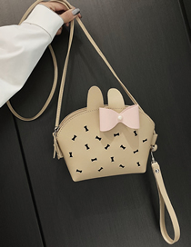 Fashion Khaki-butterfly Diagonal Bag Phone Pocket Purse