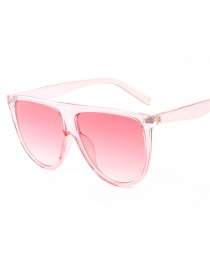 Fashion Red Frame Pink C10 Siamese Sunglasses