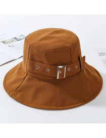 Fashion Coffee Color Fisherman's Hat
