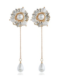 Fashion Gold Quality Pearl Earrings