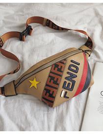 Fashion Khaki Crossbody Shoulder Bag
