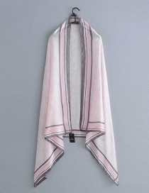 Fashion Pink Small Floral Scarf