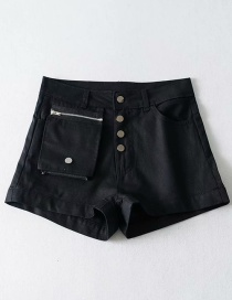 Fashion Black Detachable Bag A Shorts