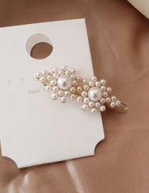 Fashion Clips - Two Flowers Pearl Hairpin