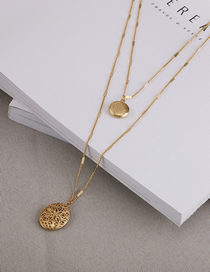 Fashion Gold Alloy Necklace