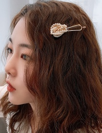 Fashion Handmade Beading (main Picture) Beaded Imitation Pearl Hairpin