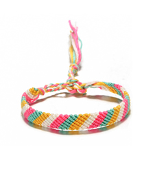 Fashion I Weaving Three Raw Rope Bracelet