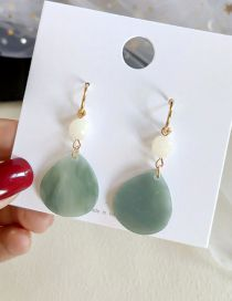Fashion Green Gradient Earrings