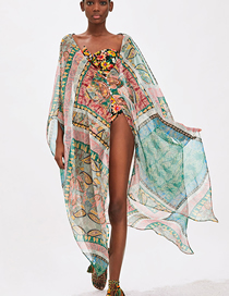 Fashion Color Printed Sun Protection Clothing