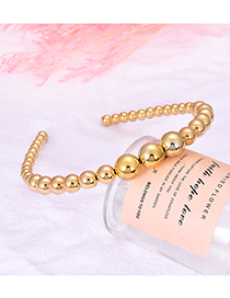 Fashion Gold Alloy Pearl Headband
