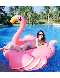 Fashion Thin-necked Flamingo Mount Inflatable Floating Row Mount Swimming Ring