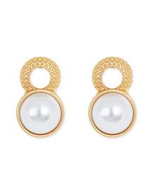 Fashion Gold Pearl Ear-rings