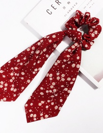 Fashion Dandelion Ribbon Red Long Streamer Hair Band