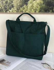 Fashion Dark Green Shoulder Diagonal Shoulder Bag