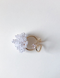 Fashion Gold Pearl Ring Combination
