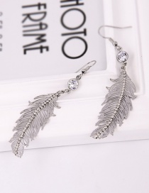 Fashion Silver Diamond Earrings