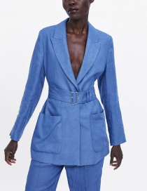Fashion Blue Suit