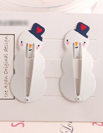 Fashion White Penguin Child Hair Clip