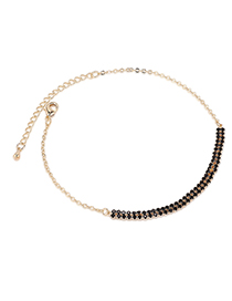 Fashion 14k Gold Anklet - Forgetting