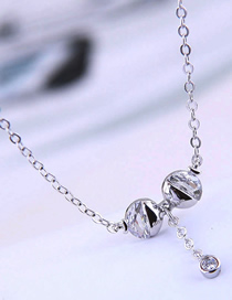 Fashion Silver Copper Plated Real Gold Kiss Fish Necklace