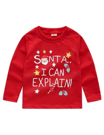 Fashion Red Children's Sweater