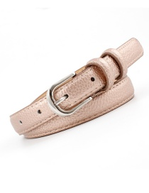 Fashion Bronze Tapered Belt