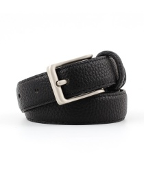Fashion Black Alloy Buckle Belt