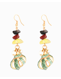 Fashion Small Conch Alloy Conch Earrings