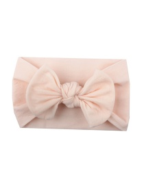 Fashion Meat Meal Nylon Bow Children's Hair Band