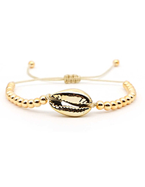 Fashion Gold Natural Shell Gold-plated Bracelet
