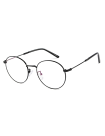 Fashion Black Frame C1 Round Frame Mirror Glasses Glasses