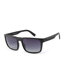 Fashion Sand Black Full Gray C1 Square Sunglasses