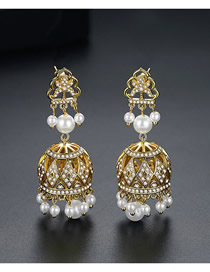 Fashion 18k Pearl Earrings