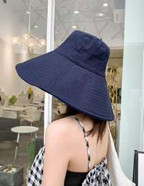 Fashion Navy Big Hat Sun Hat