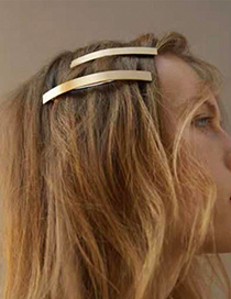 Fashion Gold Blonde Clip Set