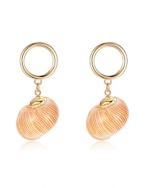 Fashion Gold Zinc Alloy Treasure Earrings