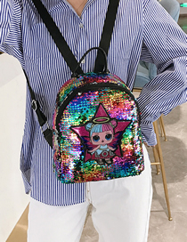 Stars Colorful Children's Cartoon Sequin Backpack