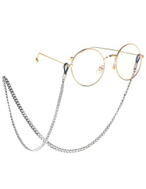 Steel Color Steel Stainless Steel Sunglasses Chain