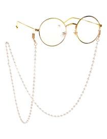 Fashion Gold Pearl Chain Glasses Chain