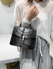 Fashion Black Square Shape Bags