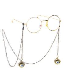 Fashion Bronze Eye Non-slip Glasses Chain