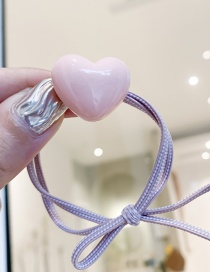 Fashion Pink/love Love Heart Rope
