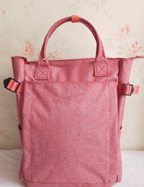 Fashion Pink Portable Backpack